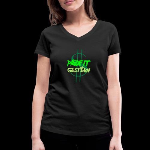 profit - Frauen Bio-T-Shirt mit V-Ausschnitt von Stanley & Stella