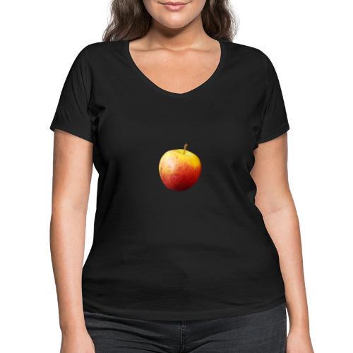 rood fruit met een naam - Vrouwen bio T-shirt met V-hals van Stanley & Stella