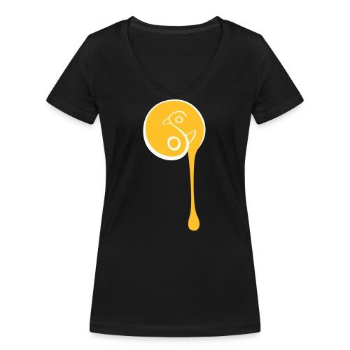 YinYang Birds - Frauen Bio-T-Shirt mit V-Ausschnitt von Stanley & Stella