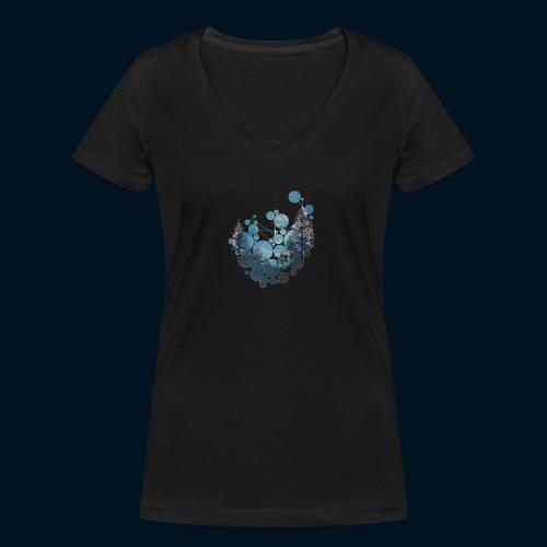 Camicia Flofames - T-shirt ecologica da donna con scollo a V di Stanley & Stella