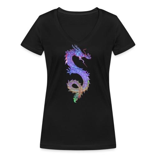 MAGIC DRAGON - Frauen Bio-T-Shirt mit V-Ausschnitt von Stanley & Stella