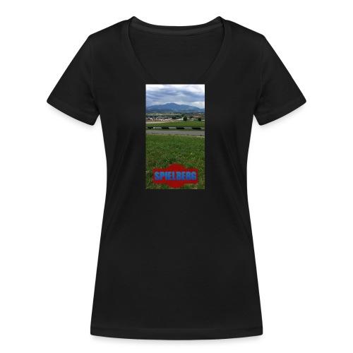Formel 1 - Frauen Bio-T-Shirt mit V-Ausschnitt von Stanley & Stella