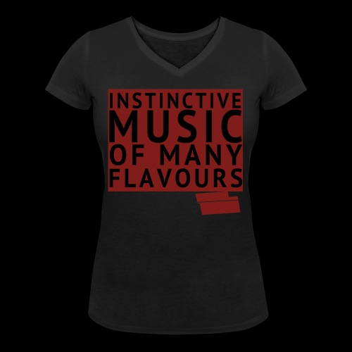 SHIRT INSTINCTIVE png - Vrouwen bio T-shirt met V-hals van Stanley & Stella