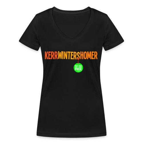 pg25 buy2get1ginger - Women's Organic V-Neck T-Shirt by Stanley & Stella