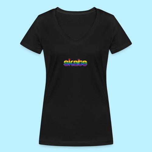 8888 - Vrouwen bio T-shirt met V-hals van Stanley & Stella