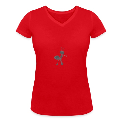 Mier wijzen - Vrouwen bio T-shirt met V-hals van Stanley & Stella
