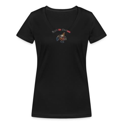 kolbi1 png - Frauen Bio-T-Shirt mit V-Ausschnitt von Stanley & Stella