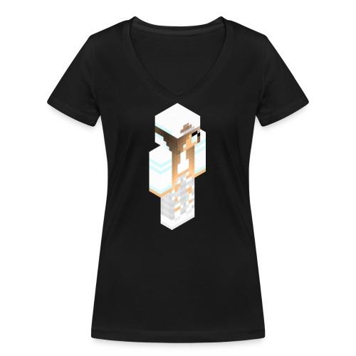 konijntjespower png - Vrouwen bio T-shirt met V-hals van Stanley & Stella