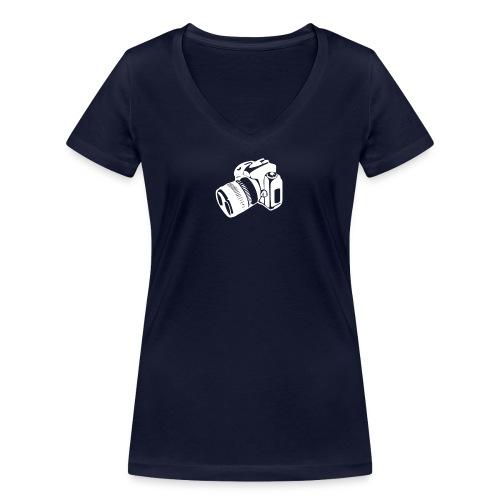 Give me your baby - Frauen Bio-T-Shirt mit V-Ausschnitt von Stanley & Stella