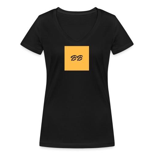 Logo - Økologisk Stanley & Stella T-shirt med V-udskæring til damer
