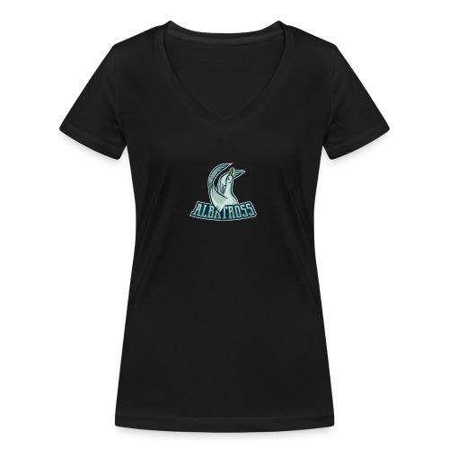 ag logo - Frauen Bio-T-Shirt mit V-Ausschnitt von Stanley & Stella