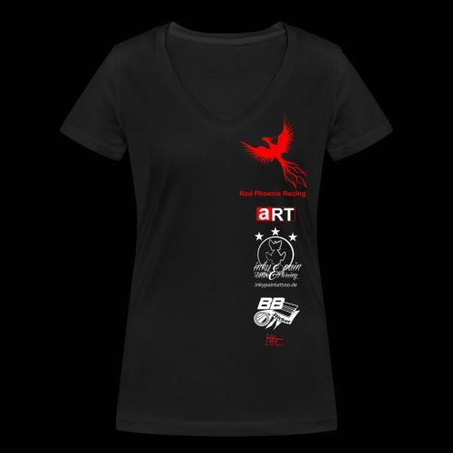 rp racing shirt2 png - Frauen Bio-T-Shirt mit V-Ausschnitt von Stanley & Stella