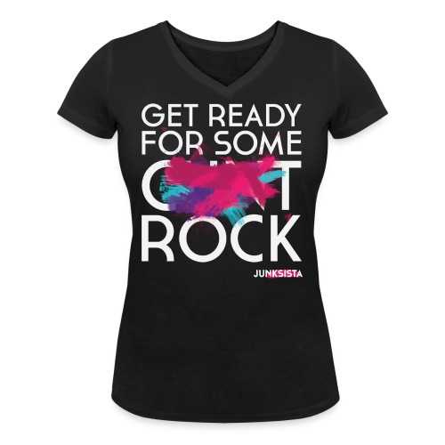 C ROCK - Women's Organic V-Neck T-Shirt by Stanley & Stella