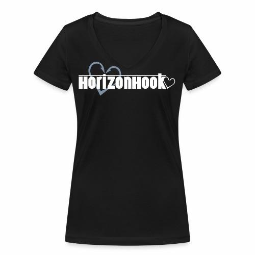 HorizonHook - Women's Organic V-Neck T-Shirt by Stanley & Stella