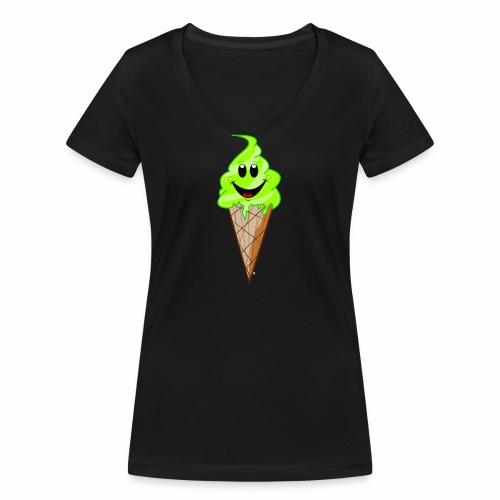 Mr./ Ms. Pistachio - Vrouwen bio T-shirt met V-hals van Stanley & Stella