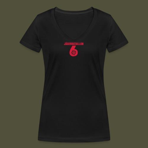 1F_JgB_unter_6 - Frauen Bio-T-Shirt mit V-Ausschnitt von Stanley & Stella