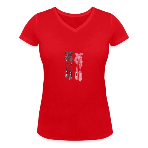 All That Dance - T-shirt bio col V Stanley & Stella Femme