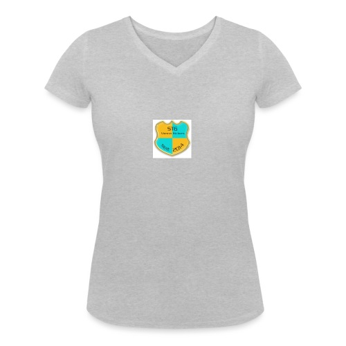 STG Vienna Kickers Logo - Frauen Bio-T-Shirt mit V-Ausschnitt von Stanley & Stella