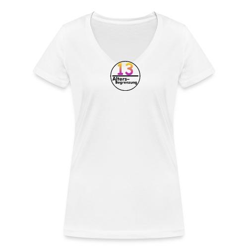 IMG 3488 png - Frauen Bio-T-Shirt mit V-Ausschnitt von Stanley & Stella
