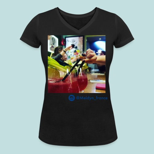 Shelter - T-shirt bio col V Stanley & Stella Femme
