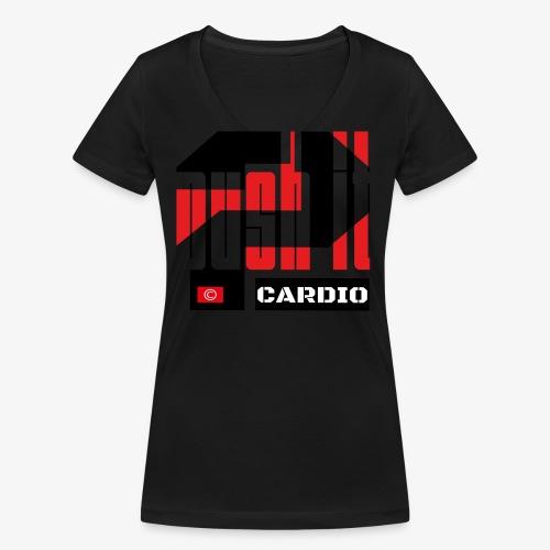 Push it - T-shirt bio col V Stanley & Stella Femme