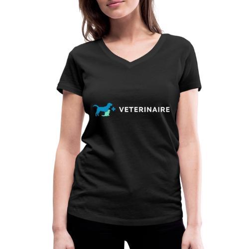 Vétérinaire, un métier qui a son importance - T-shirt bio col V Stanley & Stella Femme