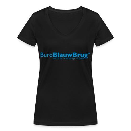 bbb_logo2015 - Women's Organic V-Neck T-Shirt by Stanley & Stella