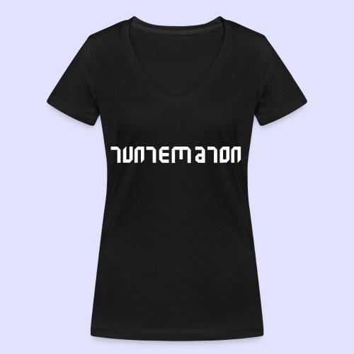 Teippilogo - Stanley & Stellan naisten v-aukkoinen luomu-T-paita