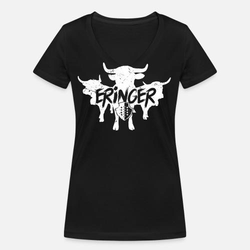 ERINGER TRIO - Frauen Bio-T-Shirt mit V-Ausschnitt von Stanley & Stella