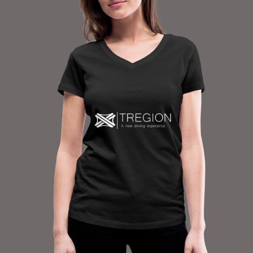 Tregion Logo wide - Women's Organic V-Neck T-Shirt by Stanley & Stella