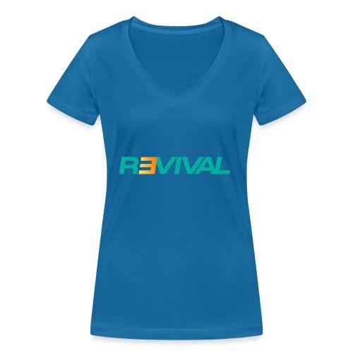 revival - Women's Organic V-Neck T-Shirt by Stanley & Stella