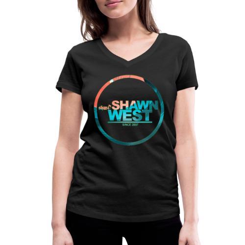 SHAWN WEST DISC JOKEY STYLE - Frauen Bio-T-Shirt mit V-Ausschnitt von Stanley & Stella