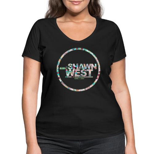 SHAWN WEST MILKSHAKE - Frauen Bio-T-Shirt mit V-Ausschnitt von Stanley & Stella