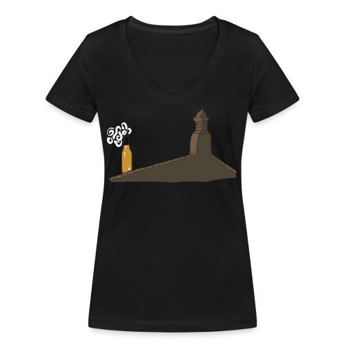 Habemus Beer Hoodies - Frauen Bio-T-Shirt mit V-Ausschnitt von Stanley & Stella