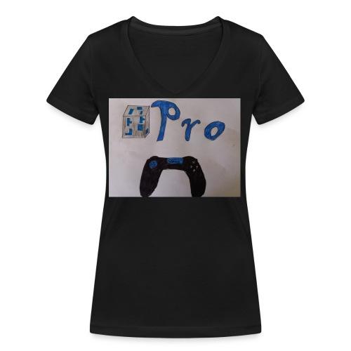 OrePro Merchandise - Frauen Bio-T-Shirt mit V-Ausschnitt von Stanley & Stella