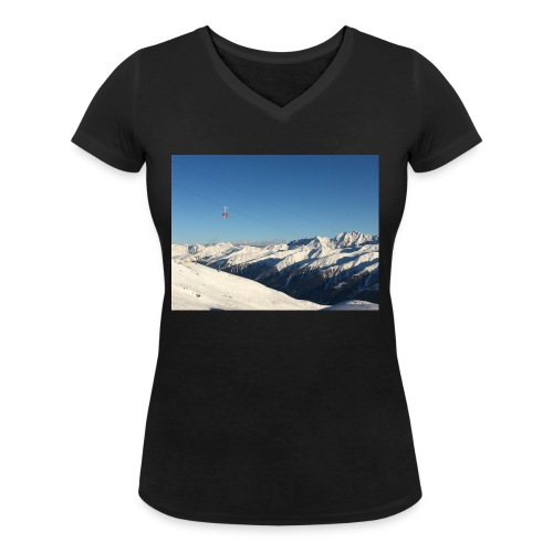 bergen - Vrouwen bio T-shirt met V-hals van Stanley & Stella
