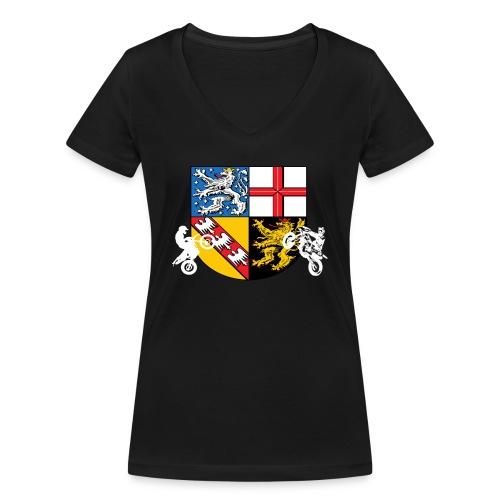 SaarRiderCrew FAN Hoodie - Frauen Bio-T-Shirt mit V-Ausschnitt von Stanley & Stella