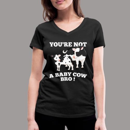 Bro png - Vrouwen bio T-shirt met V-hals van Stanley & Stella