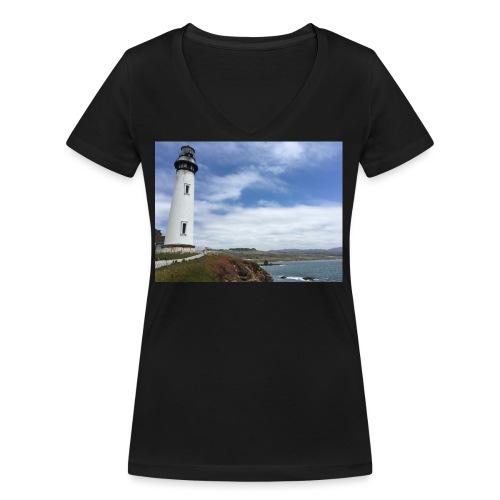 LIGHTHOUSE - T-shirt ecologica da donna con scollo a V di Stanley & Stella