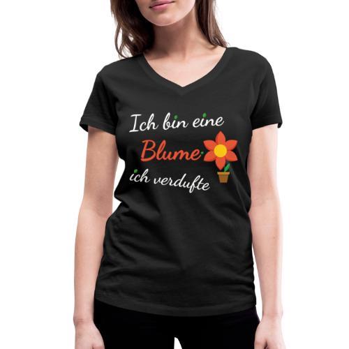 Blume Garten Gärtner Florist Shirt Geschenk - Frauen Bio-T-Shirt mit V-Ausschnitt von Stanley & Stella