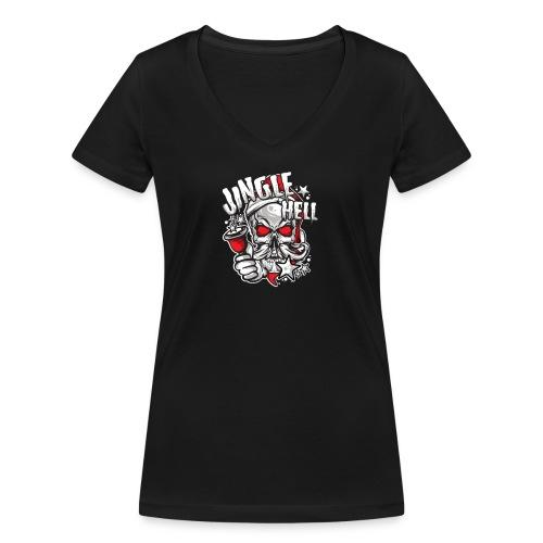 Anti-Weihnachten.png - Frauen Bio-T-Shirt mit V-Ausschnitt von Stanley & Stella