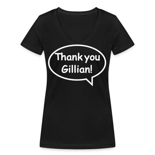 Bubble Gillian - Women's Organic V-Neck T-Shirt by Stanley & Stella