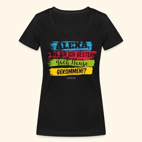 Alexa, Heimweg - Frauen Bio-T-Shirt mit V-Ausschnitt von Stanley & Stella