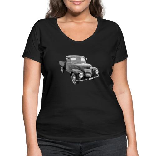 Framo Barkas Transporter Lkw DDR IFA Oldtimer - Frauen Bio-T-Shirt mit V-Ausschnitt von Stanley & Stella