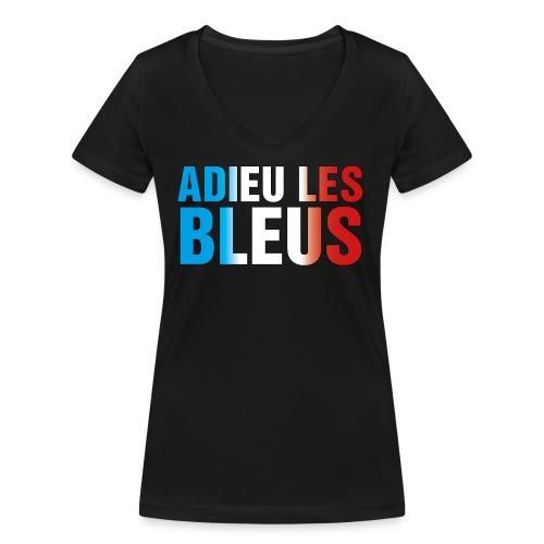 Adieu les bleus - Frauen Bio-T-Shirt mit V-Ausschnitt von Stanley & Stella