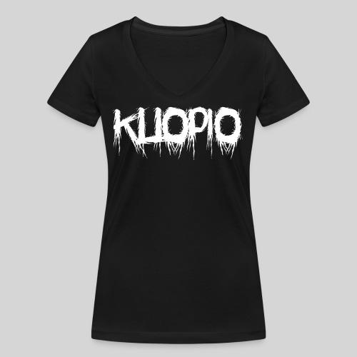 Kuopio - Stanley & Stellan naisten v-aukkoinen luomu-T-paita