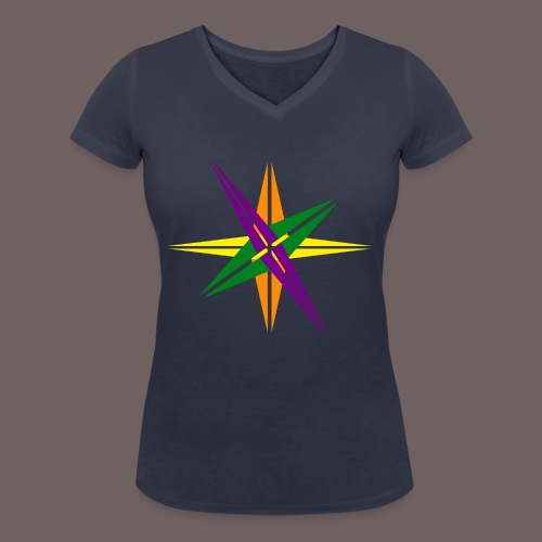 GBIGBO zjebeezjeboo - Love - Couleur d'étoile brillante - T-shirt bio col V Stanley & Stella Femme