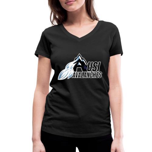 USI Avalanches - Frauen Bio-T-Shirt mit V-Ausschnitt von Stanley & Stella