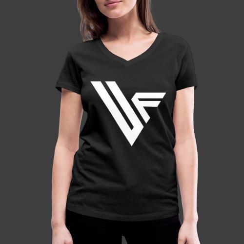 United Front Alternative Logo collection - Stanley & Stellan naisten v-aukkoinen luomu-T-paita