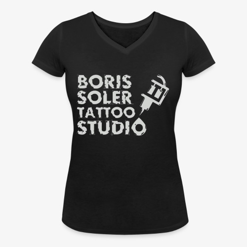 Boris Soler Tattoo - Women's Organic V-Neck T-Shirt by Stanley & Stella